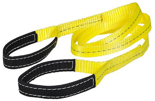 Flat Web Eye and Eye Slings Are Used for Lifting & Pulling