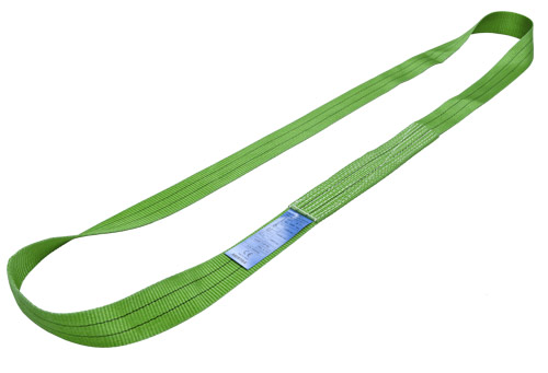 Heat Resistant Single Ply Endless Webbing Soft Sling Belt For Crane Lifting Use