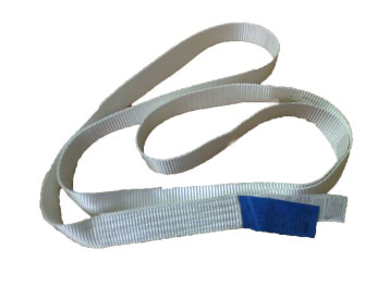 One Way Endless Webbing Sling Single Eye For Lifting Steel Pipe And Tubing