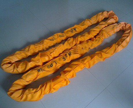 WLL 60T 60000kg Polyester Round Slings, Heavy Duty Endless Round Lifting Slings,Endless Round Webbing Sling