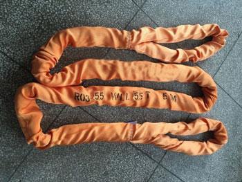 环眼50吨柔性吊装带