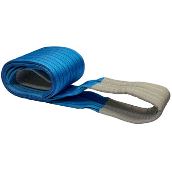 8 Ton Flat Webbing Sling, 8t Double Flat Lifting Polyester Webbing Sling
