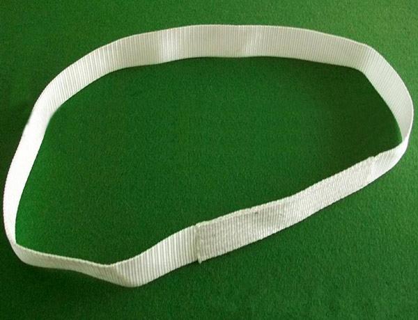 白色扁平吊装带